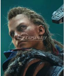 Assassin's Creed Valhalla Female Eivor Golden Cosplay Wig