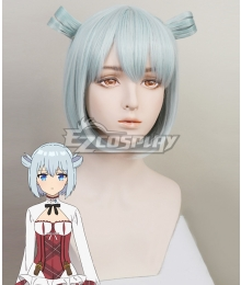 Assassins Pride Elise Angel Light Blue Cosplay Wig