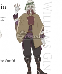 Assassins Pride Williams Gin Cosplay Costume