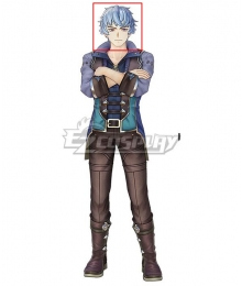 Atelier Ryza 2: Lost Legends and the Secret Fairy Bos Blue Cosplay Wig