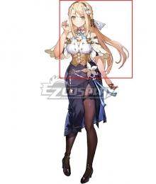 Atelier Ryza 2: Lost Legends and the Secret Fairy Klaudia Valentz Golden Cosplay Wig