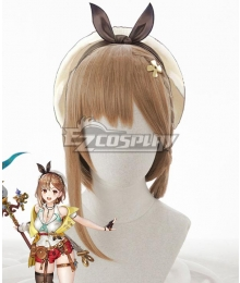 Atelier Ryza 2: Lost Legends and the Secret Fairy Reisalin Stout Brown Cosplay Wig