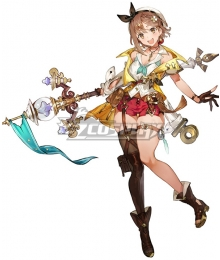 Atelier Ryza 2: Lost Legends and the Secret Fairy Reisalin Stout Cosplay Costume
