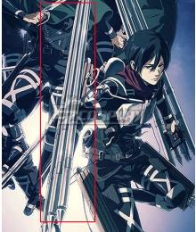 Attack On Titan Shingeki No Kyojin Final Season Mikasa Ackerman 4 Thunder Spears Cosplay Weapon Prop
