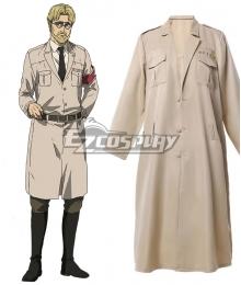 Attack On Titan Final Season Zeke Jaeger Cosplay Costume