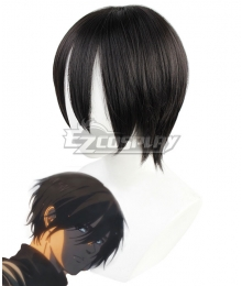 Attack On Titan Shingeki No Kyojin Final Season Mikasa Ackerman Black Cosplay Wig