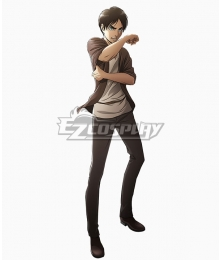 Attack on Titan Season 3 Shingeki No Kyojin Eren Yeager Cosplay Costume