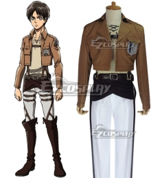 Attack on Titan Shingeki no Kyojin 104th Cadet Corps Eren Yeager Eren Yega Eren Jaeger Cosplay Costume
