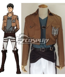 Attack on Titan Shingeki no Kyojin Bertolt Huber Training Corps Cosplay Costume