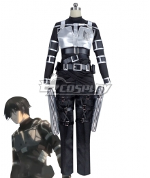 Attack On Titan Shingeki No Kyojin Final Season Mikasa Ackerman Cosplay Costume