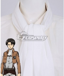 Attack On Titan Shingeki No Kyojin Levi Ackerman Rivai Akkaman Scarf Cosplay Accessory Prop