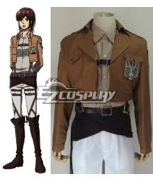 Attack on Titan Shingeki no Kyojin Sasha Blause Training Corps Cosplay Costume