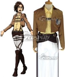 Attack on Titan Shingeki no Kyojin Scout Regiment Hange Zoe Hanji Zoe Cosplay Costume