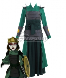Avatar: The Last Airbender Kyoshi Warriors Suki Cosplay Costume