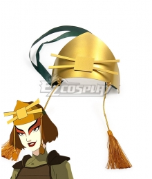 Avatar: The Last Airbender Kyoshi Warriors Suki Headwear Cosplay Accessory Prop