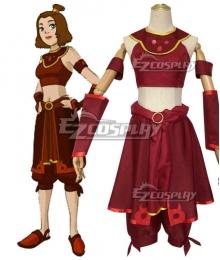 Avatar: The Last Airbender Suki Cosplay Costume