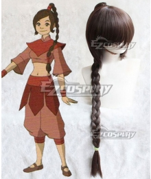 Avatar: The Last Airbender Ty Lee Brown Cosplay Wig