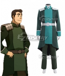 Avatar The Legend of Korra Bolin Cosplay Costume - B Edition