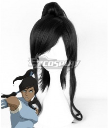 Avatar: The Legend of Korra Korra Black Cosplay Wig