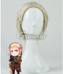 Axis Powers Hetalia APH Germany Ludwig Golden Cosplay Wig