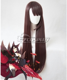 Azur Lane Akagi Brown Cosplay Wig