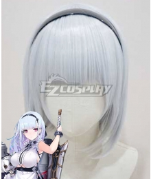 Azur Lane Bisque Doll Silver White Cosplay Wig