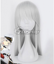 Azur Lane Enterprise Silver Cosplay Wig