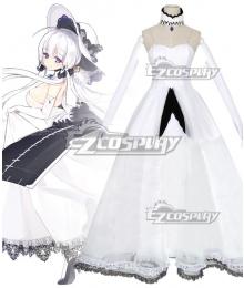 Azur Lane Illustrious Cosplay Costume