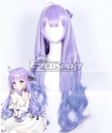 Azur Lane Unicorn Purple Cosplay Wig