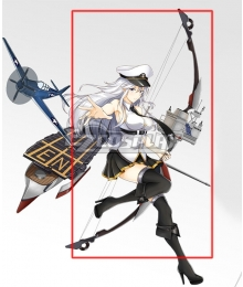 Azur Lane USS Enterprise Bow Cosplay Weapon Prop