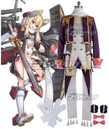 Azur Lane Warspite Cosplay Costume