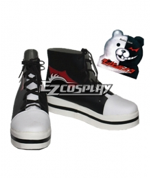 Dangan Ronpa Monokuma Black Cosplay Shoes