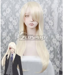 B: The Beginning Minatsuki Golden White Cosplay Wig