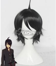 Bakemonogatari Nisemonogatari Koyomi Araragi Black Cosplay Wig