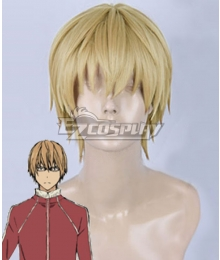 Bakuman Akito Takagi Golden Cosplay Wig
