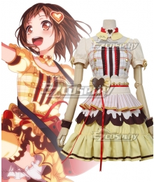 BanG Dream Afterglow A Joyful Tasting Party Hazawa Tsugumi Cosplay Costume