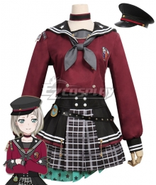 BanG Dream Afterglow Aoba Moca Lost One's Weeping Cosplay Costume