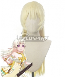 BanG Dream! Chisato Shirasagi Golden Cosplay Wig