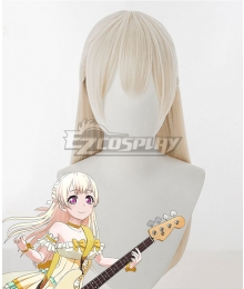 BanG Dream! Pastel*Palettes Chisato Shirasagi Golden Cosplay Wig