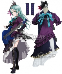 BanG Dream! Girls Band Party! Hikawa Sayo Cosplay Costume