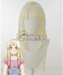 Bang Dream! Kokoro Tsurumaki Golden Cosplay Wig