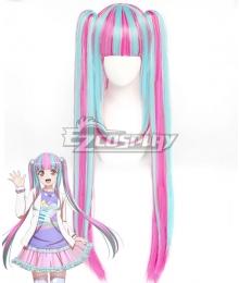 BanG Dream 7th☆LIVE RAISE A SUILEN RAS Nyubara Reona PAREO Blue Pink Cosplay Wig
