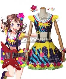 BanG Dream! Poppin'Party Kasumi Toyama Cosplay Costume