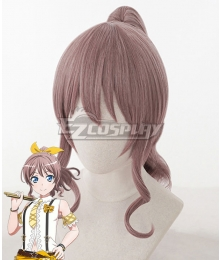 BanG Dream! Poppin'Party Yamabuki Saaya Pink Cosplay Wig