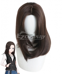 Bang Dream! RAISE A SUILEN Layer Wakana Rei Brown Cosplay Wig