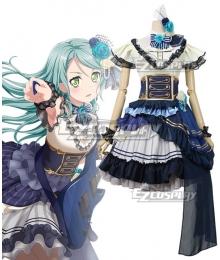 BanG Dream! Roselia Noble・Rose Hikawa Sayo Cosplay Costume