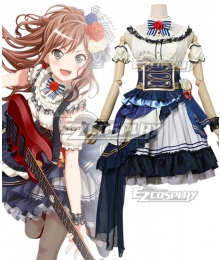 BanG Dream! Roselia Noble・Rose Imai Lisa Cosplay Costume