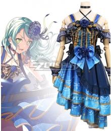 BanG Dream! Roselia Raindrops and Tears Hikawa Sayo Cosplay Costume