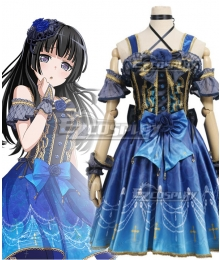 BanG Dream! Roselia Slight worry Shirokane Rinko Cosplay Costume