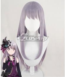 BanG Dream! Roselia Yukina Minato Grey Purple Cosplay Wig